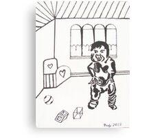 """ I Want My Milk "" Canvas Print"