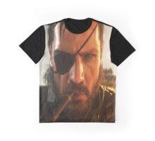 MGSV -  Big Boss' New Story Graphic T-Shirt