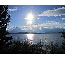 Dark Sun Lake Photographic Print