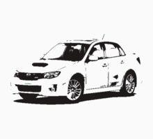 Subaru WRX STI 2011 by garts