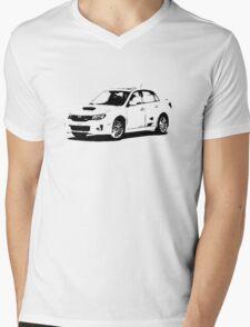 Subaru WRX STI 2011 Mens V-Neck T-Shirt