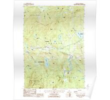 USGS TOPO Map New Hampshire NH Andover 329465 1987 24000 Poster