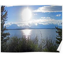 Light Sun Lake Poster
