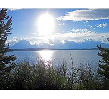 Light Sun Lake Photographic Print
