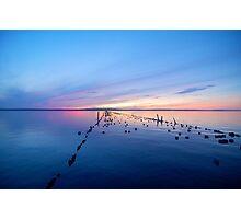 Lake Superior Sunset Photographic Print