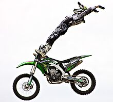 Stunt Rider  by BenClarkImagery