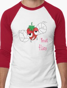 Fruit flies Men's Baseball ¾ T-Shirt