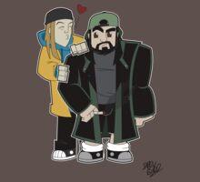 Jay & Silent Bob by DrewBird