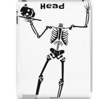 Get Off Your Head iPad Case/Skin