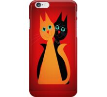 Feline Friends iPhone Case/Skin