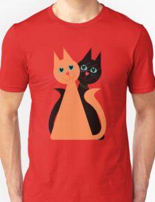 Feline Friends Unisex T-Shirt