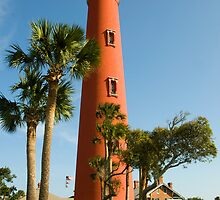 Ponce de Leon  Inlet Lighthouse  by John  Kapusta