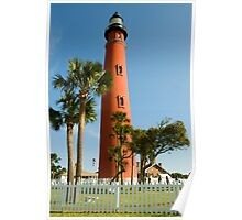 Ponce de Leon  Inlet Lighthouse  Poster
