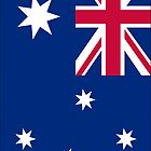 Australia Flag by Dimuthu  Sudasinghe