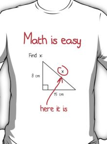 Math is Easy T-Shirt