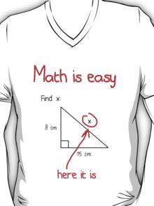 Math is Easy T-Shirt