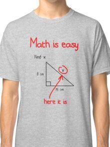 Math is Easy Classic T-Shirt