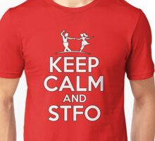 Keep Calm and Swing The Fuck Out Unisex T-Shirt