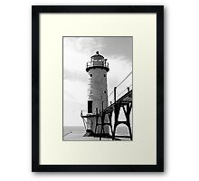 Manistee North Pierhead Lighthouse  Framed Print
