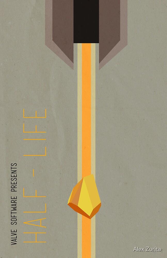 Half Life Minimal Poster by Alex Zurita
