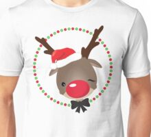 FESTIVE CHRISTMAS T-SHIRT :: rudolph the red nosed reindeer T-Shirt