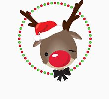 FESTIVE CHRISTMAS T-SHIRT :: rudolph the red nosed reindeer Unisex T-Shirt