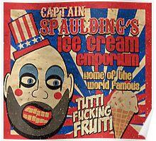 Capt. Spaulding's Ice Cream Emporium Poster