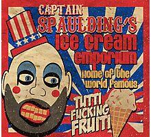 Capt. Spaulding's Ice Cream Emporium Photographic Print