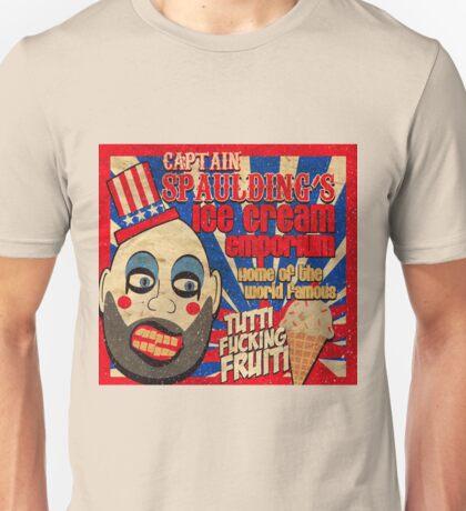Capt. Spaulding's Ice Cream Emporium Unisex T-Shirt