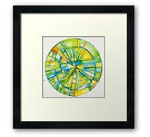 Slice of Pi, Meditation Mandala Series Framed Print