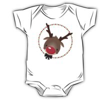 FESTIVE CHRISTMAS T-SHIRT :: rudolph the red nosed reindeer One Piece - Short Sleeve