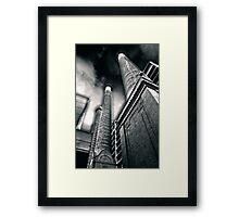 once in Barcelona Framed Print