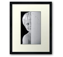 I am not invisible... Framed Print