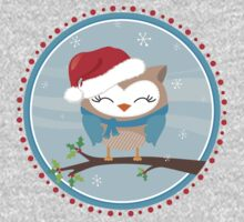 FESTIVE CHRISTMAS T-SHIRT :: boy owl day time Kids Clothes