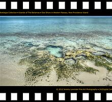 Nostalgia Collection • Islands of The Bahamas • Sea Shore in Western Nassau, New Providence Island by 242Digital
