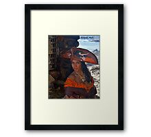 Caribbean Pearl Framed Print