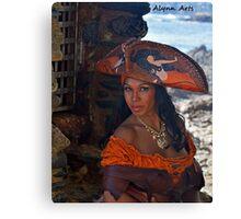 Caribbean Pearl Canvas Print
