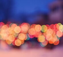 Christmas Light Bokeh by jmb-photography