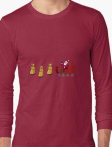 Dalek Wonderland Long Sleeve T-Shirt