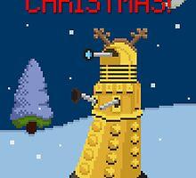 Dalek the Reigndeer by thesnuttch
