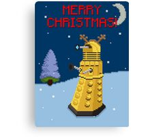 Dalek the Reigndeer Canvas Print