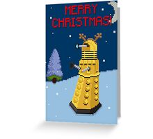 Dalek the Reigndeer Greeting Card