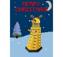 Dalek the Reigndeer Photographic Print