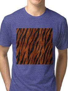 SKN3 BK MARBLE BURL (R) Tri-blend T-Shirt