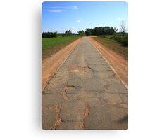 Route 66 - Sidewalk Highway Canvas Print