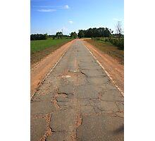 Route 66 - Sidewalk Highway Photographic Print