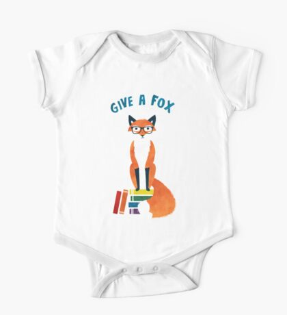 Give a Fox One Piece - Short Sleeve