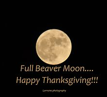Full Beaver Moon - Happy Thanksgiving by Poete100