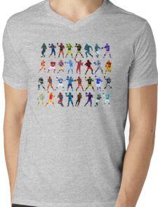 QuarterBack Club Mens V-Neck T-Shirt