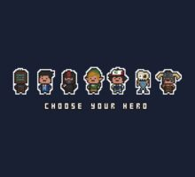 """Choose Your Hero"" - Arrangement Number 2 by PixelBlock"